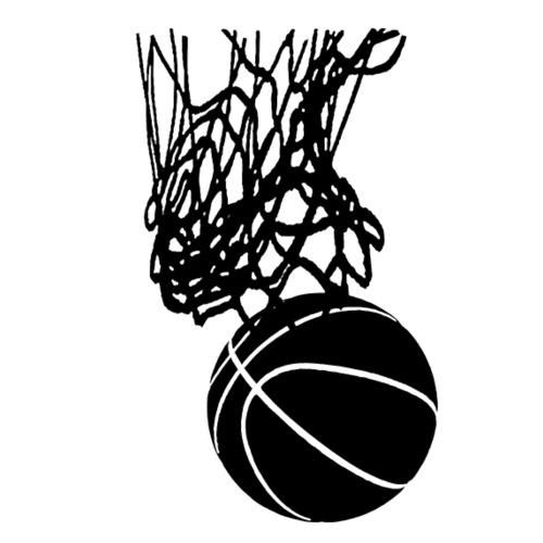 Basketball, Basketballnetz, Basketballkorb, Swish - Männer Premium T-Shirt
