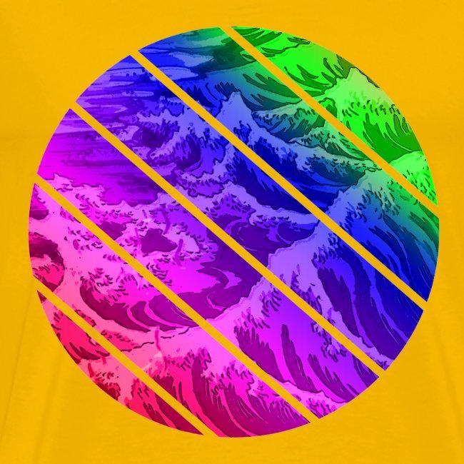 Regenbogen Welle