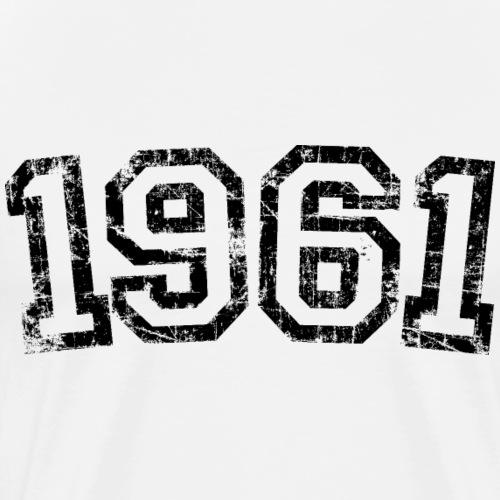 Jahrgang 1961 Geburtstag Jahr Design - Männer Premium T-Shirt