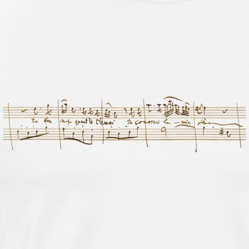 Don Giovanni: Donna Anna - «Tu ben sai ...» (bright) - Men's Premium T-Shirt