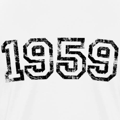 Jahrgang 1959 Geburtstag Jahr Design - Männer Premium T-Shirt