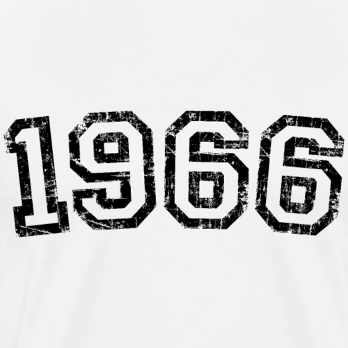 Jahrgang 1966 Geburtstag Jahr Design - Männer Premium T-Shirt