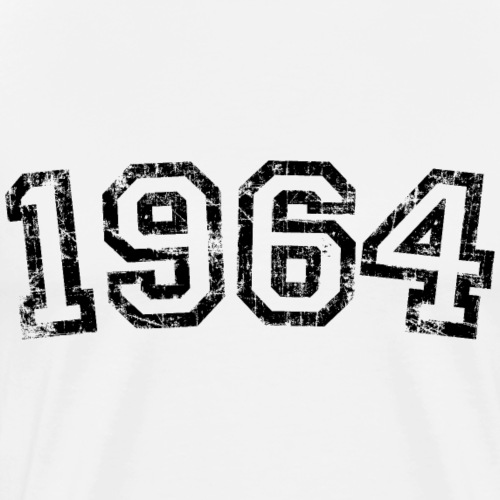 Jahrgang 1964 Geburtstag Jahr Design - Männer Premium T-Shirt