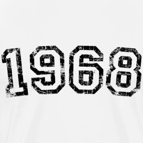 Jahrgang 1968 Geburtstag Jahr Design - Männer Premium T-Shirt