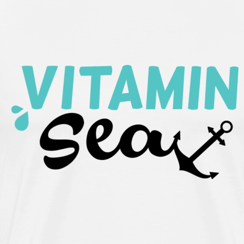 Vitamin Sea #2 - by Life to go - Männer Premium T-Shirt