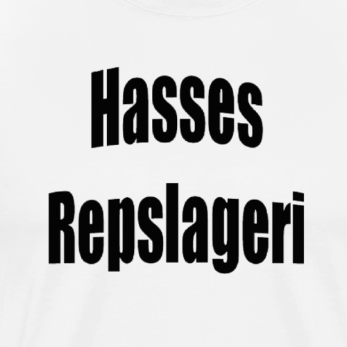 Hasses repslageri - Premium-T-shirt herr