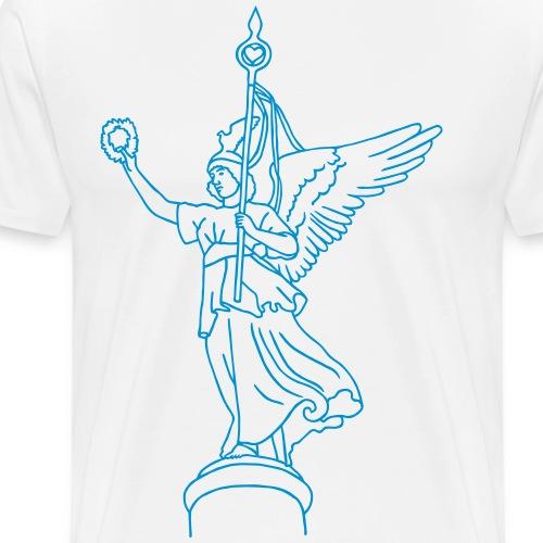 Goldelse auf Siegesäule - Männer Premium T-Shirt