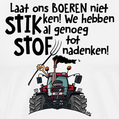 0505 stikstof - Mannen Premium T-shirt