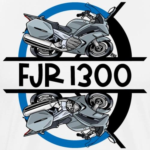 FJR RECHTS LINKS - Mannen Premium T-shirt