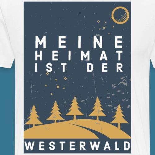 Heimatliebe Westerwald - Männer Premium T-Shirt