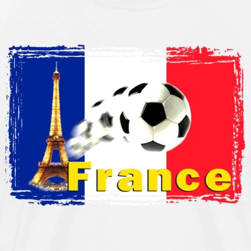 France Fussball - Männer Premium T-Shirt
