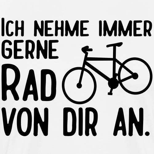 Lustige Radfahrer Fahrrad Sprüche - Männer Premium T-Shirt