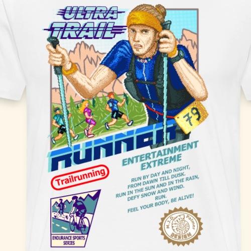 ULTRA TRAIL RUNNER ERIK 79 (for white shirts) - Maglietta Premium da uomo