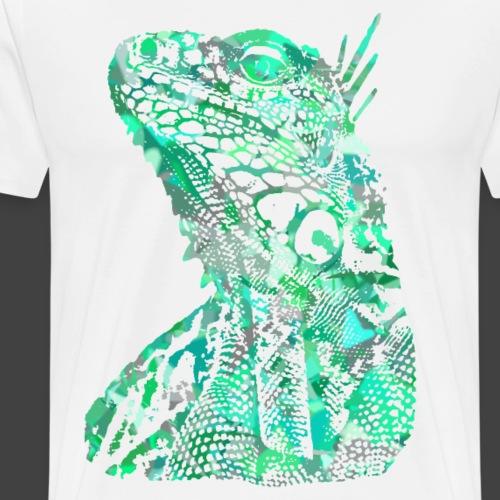 LIZARD1 - GREEN - Men's Premium T-Shirt