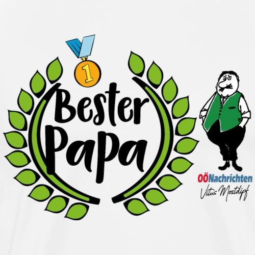 Bester Papa - Männer Premium T-Shirt