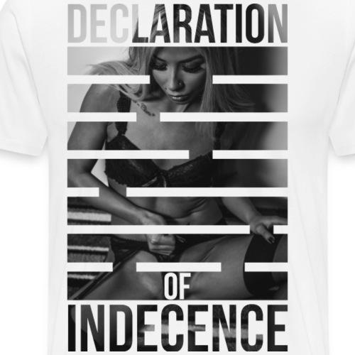 Declaration Of Indecence 2 - Men's Premium T-Shirt