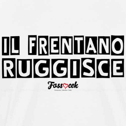 Il Frentano Ruggisce - Maglietta Premium da uomo