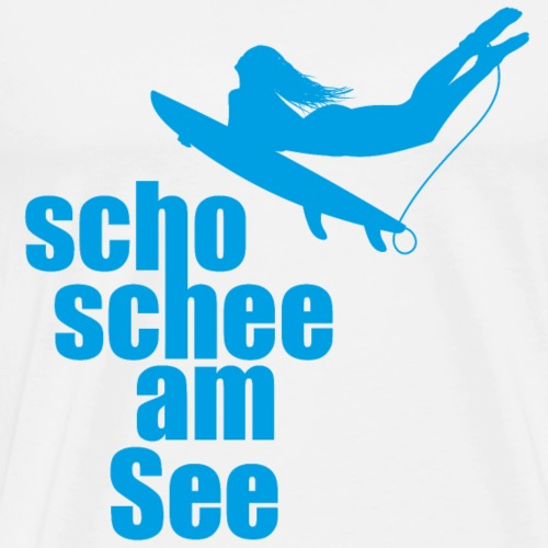 scho schee am See Suferin 02 - Männer Premium T-Shirt