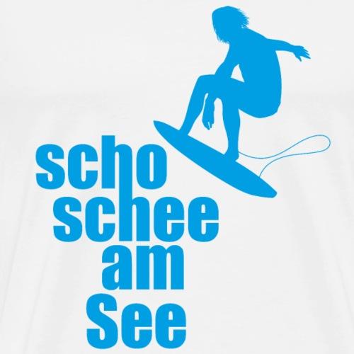 scho schee am See Surfer 01 - Männer Premium T-Shirt