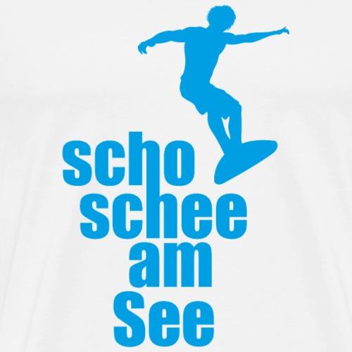 scho schee am See Surfer 02 - Männer Premium T-Shirt