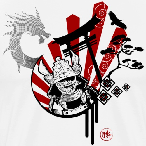 Samourai Bushido - T-shirt Premium Homme