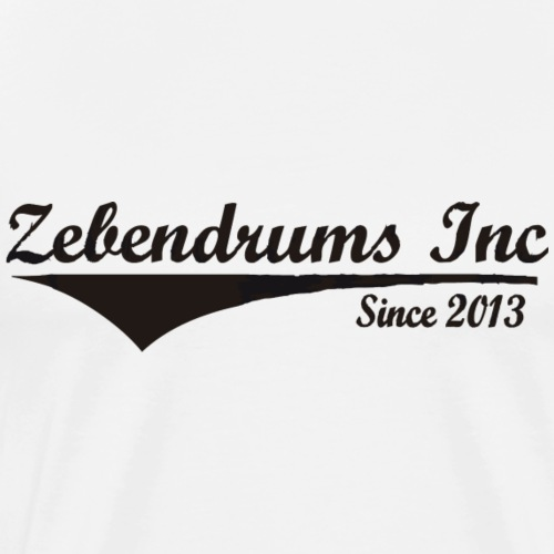 Zebendrums Inc. 2013 - Camiseta premium hombre