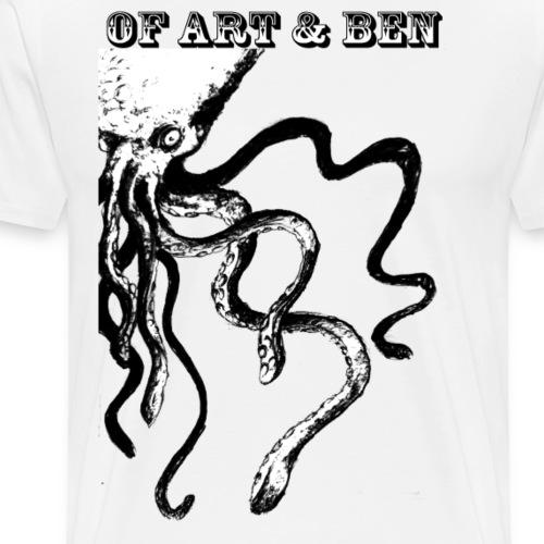 Of Art and Ben Octopus - Männer Premium T-Shirt