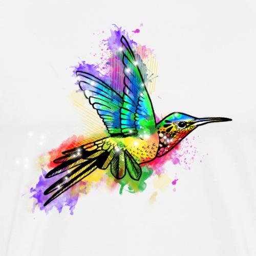 Farbexplosion Kolibri