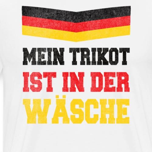 Mein Deutschland Trikot ist in der Wäsche - Männer Premium T-Shirt