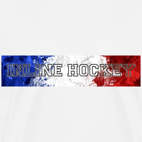 Inline Hockey France - T-shirt Premium Homme