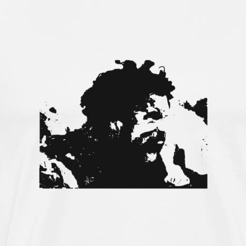The Roar Of War by Howard Charles - Men's Premium T-Shirt