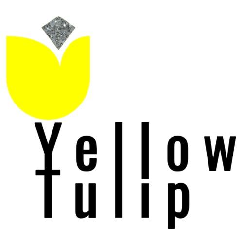 Yellow Tulip Logo - Mannen Premium T-shirt