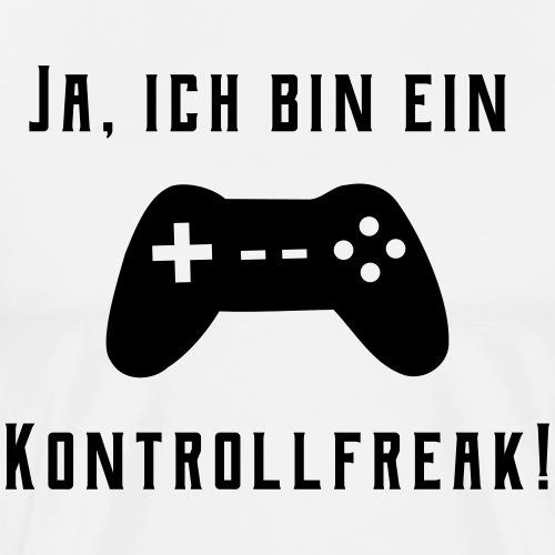 Gamer Controller Kontrollfreak - Männer Premium T-Shirt