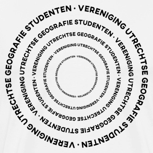Alleen Maar Rondjes - Mannen Premium T-shirt