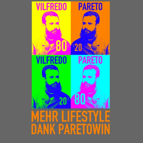Paretowin orange - Männer Premium T-Shirt