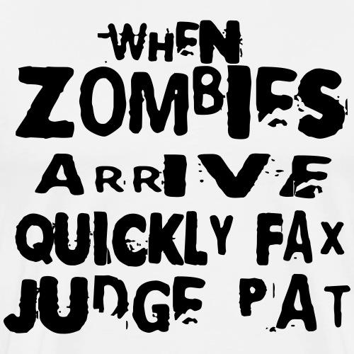 when zombies arrive_polar - Männer Premium T-Shirt