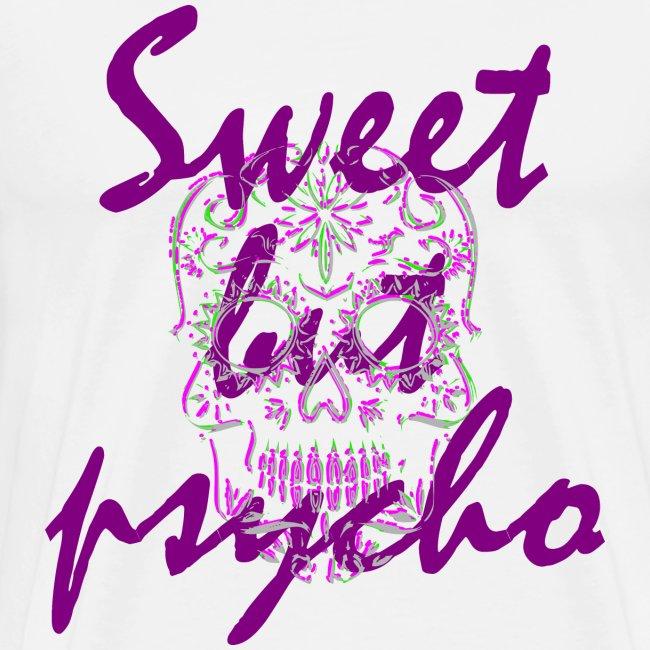 Sweet but psycho , Totenkopf, Skull Geschenk   Männer Premium T Shirt