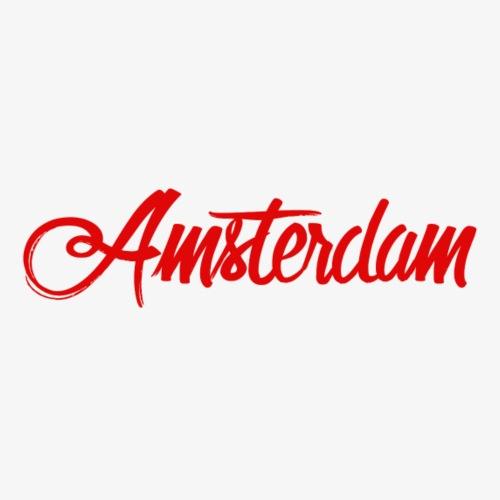 Amsterdam print - Mannen Premium T-shirt