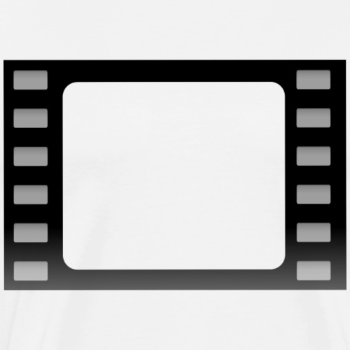 Film Rahmen - Männer Premium T-Shirt
