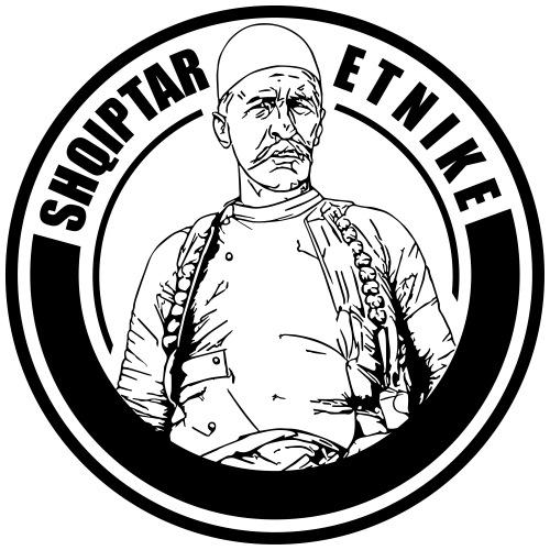 Shqiptar Etnike Boletini - Männer Premium T-Shirt