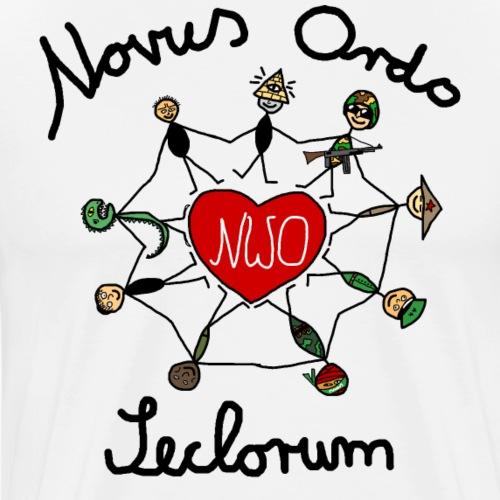 Novus Ordo Seclorum (Neue Weltordnung) - Männer Premium T-Shirt