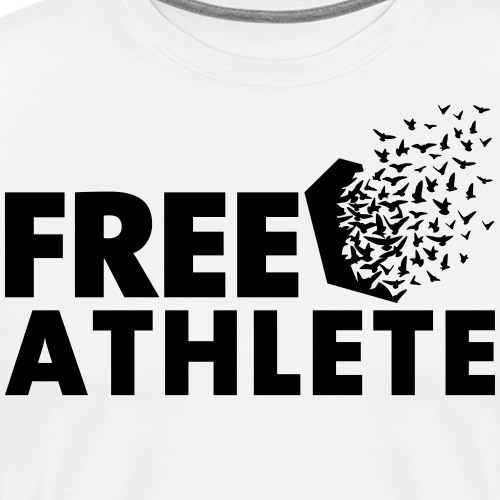 Free Athlete Freedom - Männer Premium T-Shirt
