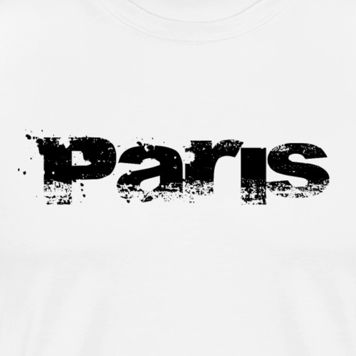 Paris logo - Men's Premium T-Shirt