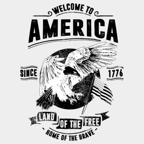 WELCOME TO AMERICA #2 - Männer Premium T-Shirt