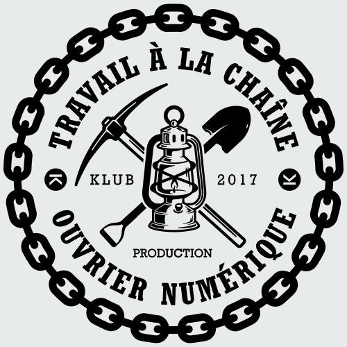 Ouvrier Numérique - LE KLUB - T-shirt Premium Homme