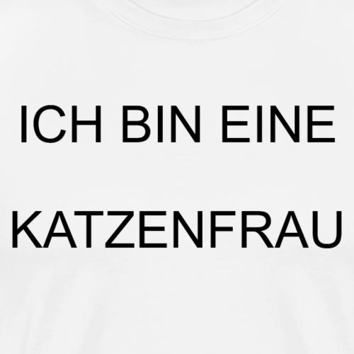 Katzen Katze Schmusekater Kätzchen - Männer Premium T-Shirt