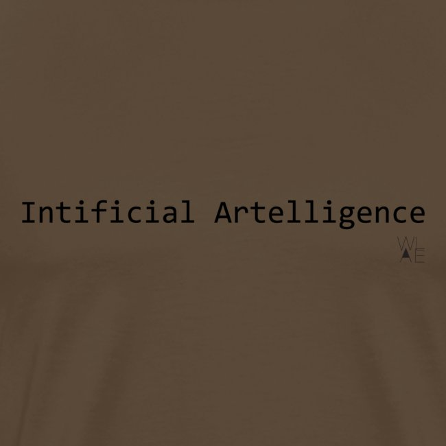 Intificial Artelligence Black png