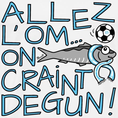 Allez l'OM, On Craint Degun, Foot Marseille - T-shirt Premium Homme
