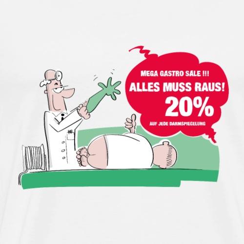Darmspiegelung - Männer Premium T-Shirt