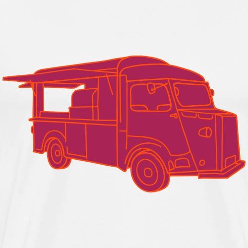 Imbisswagen Foodtruck 2 - Männer Premium T-Shirt